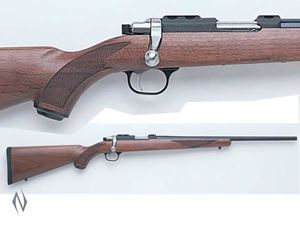 Picture of RUGER 77/17 17HMR BLUED WALNUT RIFLE