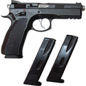 Picture of CZ CZ75 SP-01 SHADOW AUST. SPECIAL 9MM 120MM PISTOL