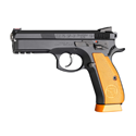 Picture of CZ75 SP-01 SHADOW ORANGE 9MM 125MM 10 RNDMAG PISTOL