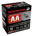 """Picture of WINCHESTER AA INTERNATIONAL 12G 9 2-3/4"""" 24GM TARGET SHOTSHELL"""