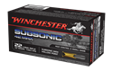 Picture of WINCHESTER SUBSONIC MAX 22 LONG RANGE 42GR HOLLOW POINT