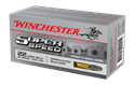 Picture of WINCHESTER SUPER SPEED 22LONG RANGE 40GR SOLID COPPER PLATED