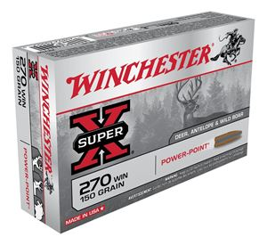 Picture of WINCHESTER SUPER X 270WIN 150GR PP